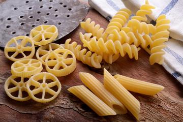 Pasta italiana, pasta di grano duro