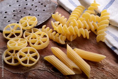 Papiers peints Pain Pasta italiana, pasta di grano duro