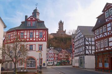 Altes Rathaus von Dillenburg mit Wilhelmsturm