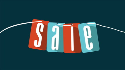 Sale labels, Video animation, HD 1080
