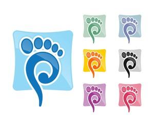 podiatry foot logo 60