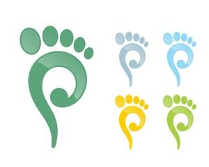 podiatry foot logo 59