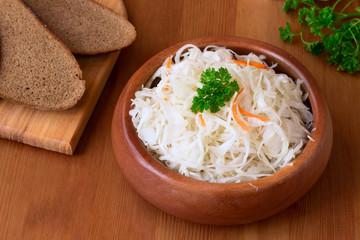 Sauerkraut - fermented cabbage