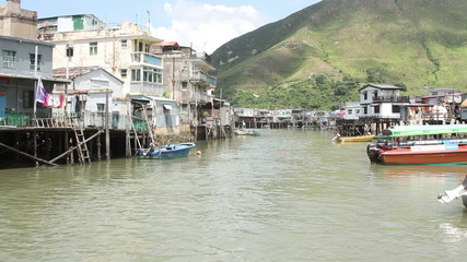 Fishing village at Tai O