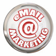 Email Marketing Button Advertising Message Campaign