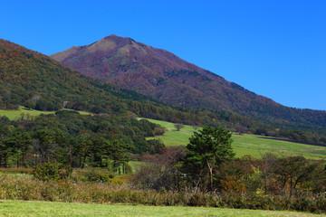 秋の中蒜山