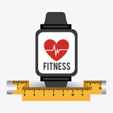 Fitness design, vector illustration. - 79600343