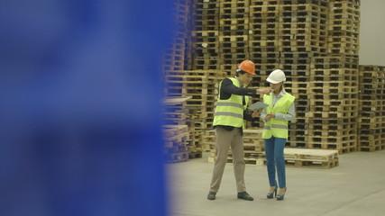 Engineers working in industry