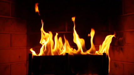 Fireplace Slow Motion 60p to 24p