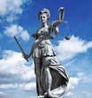 justitia in blue sky - 79602931