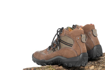 trekking shoes incl. clipping path