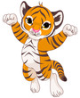 Cute tiger - 79603121
