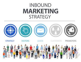 Inbound Marketing Advertisement Commercial Branding Concept