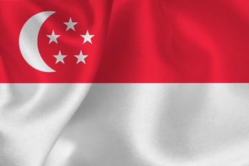 シンガポール  国旗 旗