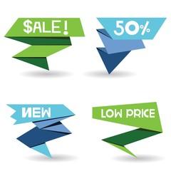 pop up sale sticker