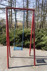 Swing at children's playground