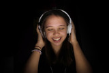 écouter de la musique le soir