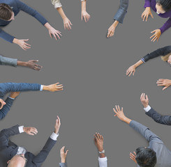 Business People Corporate Unity Togetherness Teamwork Concept