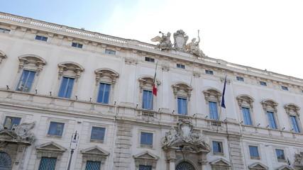 Consult Palace. Rome, Italy. 4K
