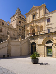 Kirche di San Francesco, Noto, UNESCO,Provinz Syrakus , Sizilien