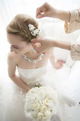 The bride is the preparation of expression