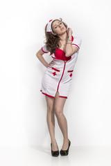 Krankenschwester mit erotischem Touch