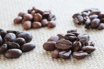 コーヒーの豆