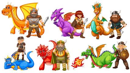 Vikings and dragons