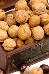 Chest With Walnuts