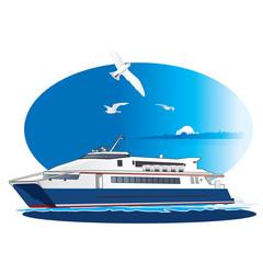 Vector Ferry, Steamship.