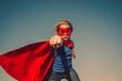Child superhero portrait - 79620795