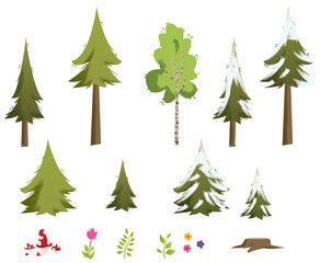 kit nature et forêt