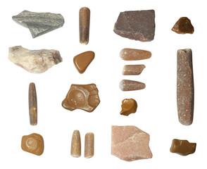set of isolated stones