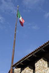 Bandiera tricolore, Castello di Gorizia
