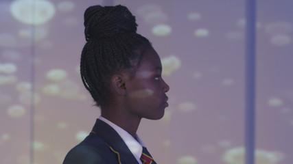 Schoolgirl, Close-Up