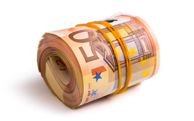 seven thousand five hundred euro rolled
