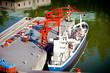 Model of sea port - 79624781