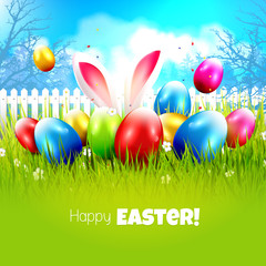 Sweet Easter greeting card