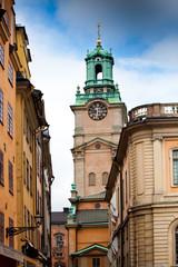 Stortorget street in Stockholm, Sweden