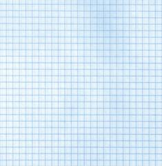 Detailed blank blue math paper pattern