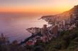 Monaco Montecarlo, Cote d'Azur, Europe, Evening view