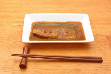 和食 鯖の味噌煮