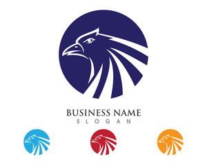 Falcon Logo Template 2