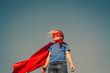 Child superhero portrait - 79629998