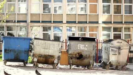 Dirty Dumpster