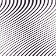 Moire pattern, monochrome background with trance effect. Optical