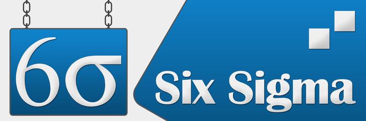 Six Sigma Signboard Horizontal