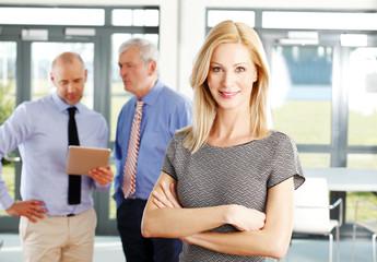 Sales woman portrait