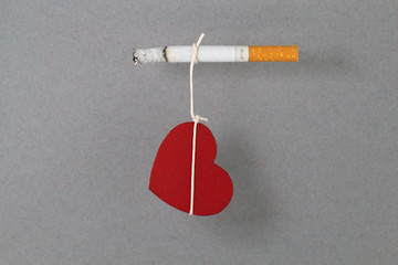 Life, connected with smoking