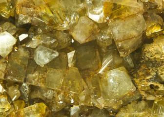Topaz crystals from Nerchinsk, Irkutsk, Russia.
